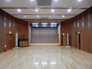 鳥取県南部町天満庁舎富有まんてんホール